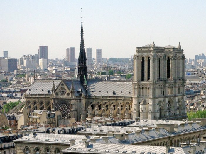 Notre-Dame de Paris from Tour Saint-Jacques © French Moments