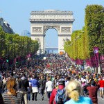 Paris Sans Voiture September 2015 - Champs-Élysées 01 © French Moments
