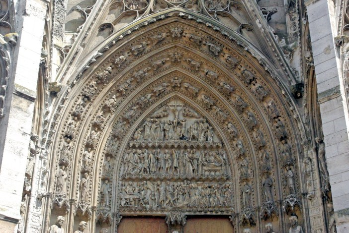 Tympanum of Portail de la Calende, Rouen cathedral © French Moments