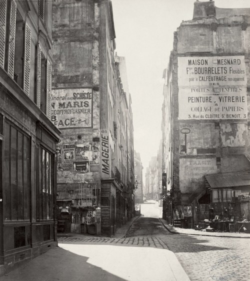Rue Saint-Jacques by Charles Marville ca. 1853–70