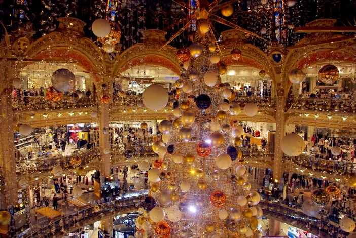 Galeries Lafayette Christmas 2015 © French Moments