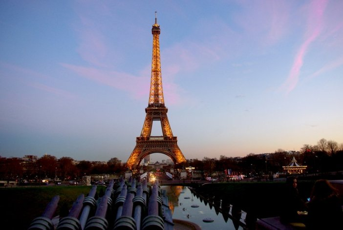 Famous monuments of Paris: Eiffel Tower © French Moments