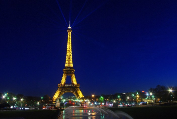 Eiffel Tower Trocadéro Paris by night tour