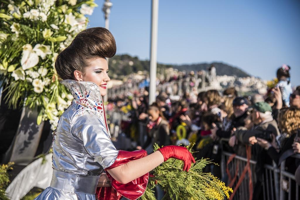 Batalhas de Flores em Nice
