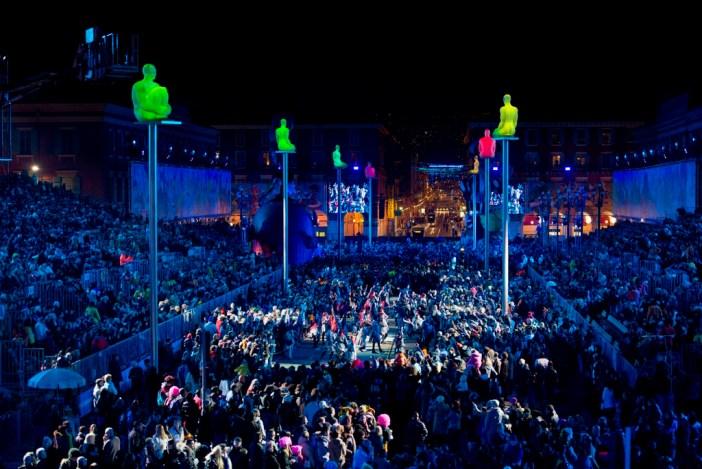 Night Parade, Nice Carnival © I. Issock - OTC Nice
