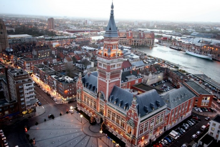 The City-Hall of Dunkirk and its belfry © Ville de Dunkerque