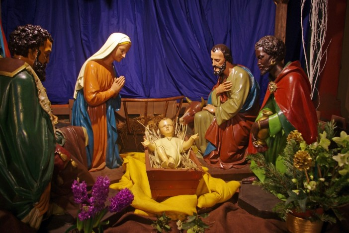 Nativity Scene Paris