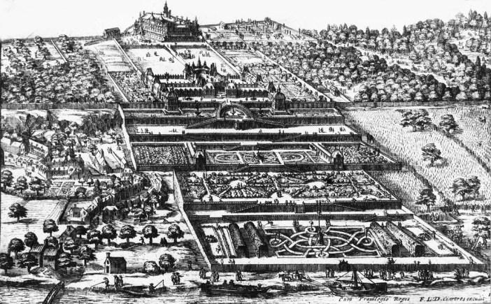 Château-Neuf of Saint-Germain-en-Laye by Claude Châtillon (1547-1616)
