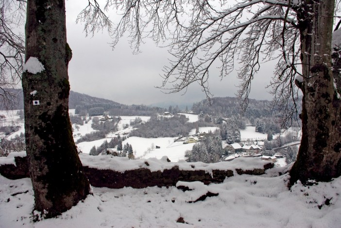 View of the Alsatian Jura from the castle of Ferrette © French Moments