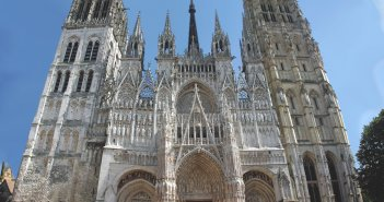 The West Facade of Notre-Dame Cathedral in Rouen © French Moments