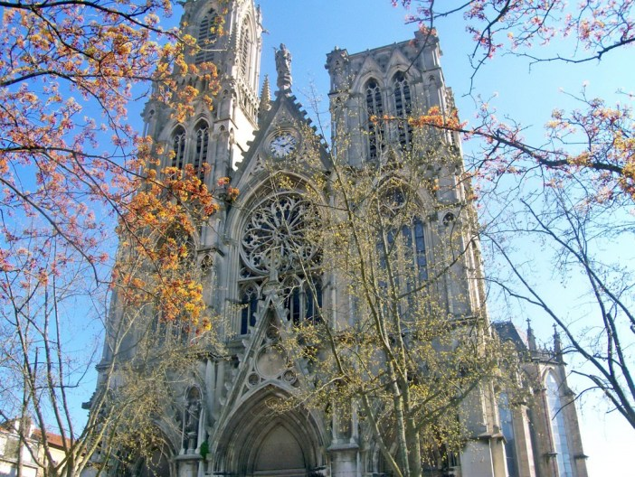 The Saint-Pierre church in Nancy © Michel Guernier - French Moments