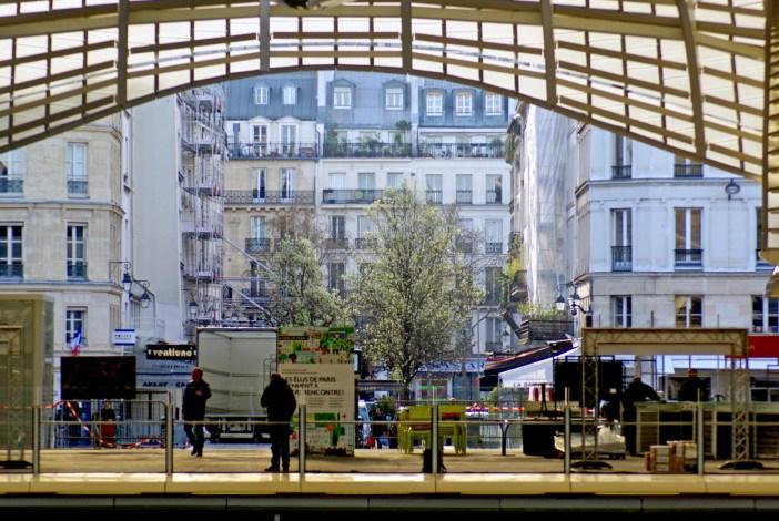The Canopy of Les Halles, rue de la Cossonnerie and Boulevard de Sébastopol, Paris © French Moments