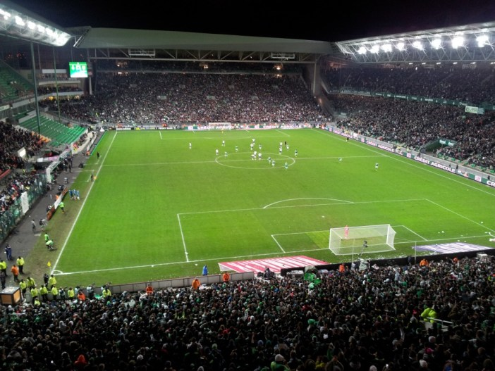 Geoffroy-Guichard Stadium in Saint-Etienne © KevFB - licence [CC BY-SA 3.0] from Wikimedia Commons