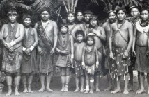 Ingenious people from the French Guiana exhibited at the Jardin d'Acclimatation in 1892 copy