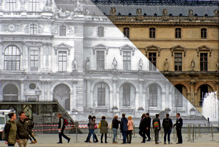 The 'invisible' pyramid is the entrance to the Louvre Museum © French Moments