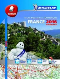 Michelin Road Atlas France 2016