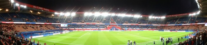 Parc des Princes, Paris © liondartois - licence [CC BY-SA 4.0] from Wikimedia Commons