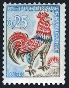 Coq de Decaris 1962
