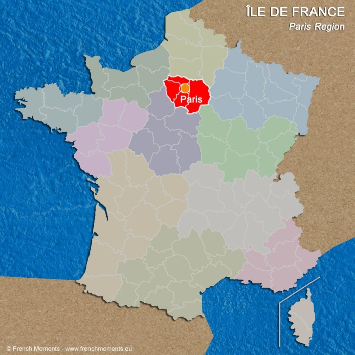 Regions of France Ile de France June 2016 copyright French Moments