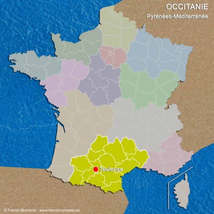 Regions of France Occitanie June 2016 copyright French Moments