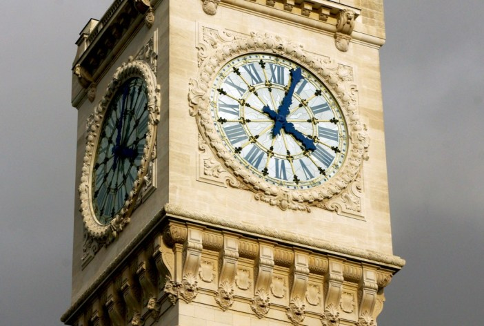 Public clocks of Paris
