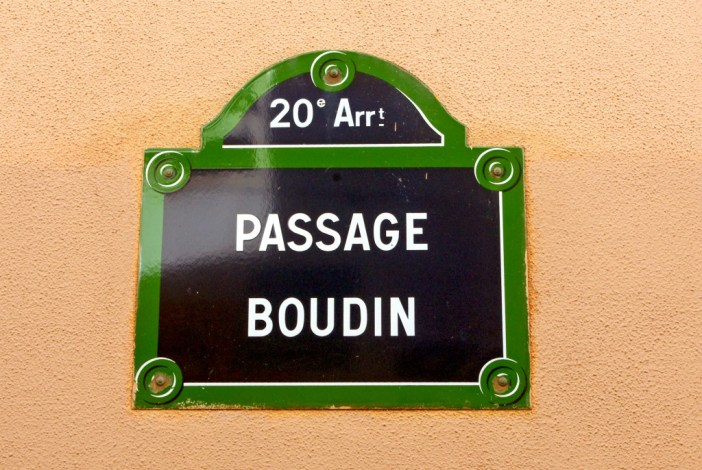 Passage Boudin, Paris