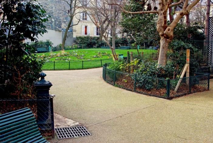 Square Alex Biscarre, Paris