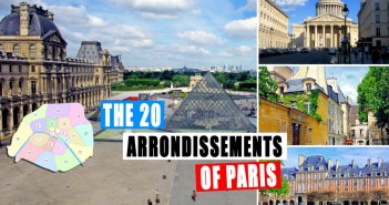 The 20 arrondissements of Paris © French Moments