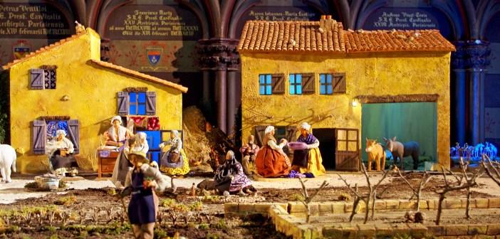 Christmas in France - Nativity Scene Notre-Dame Paris