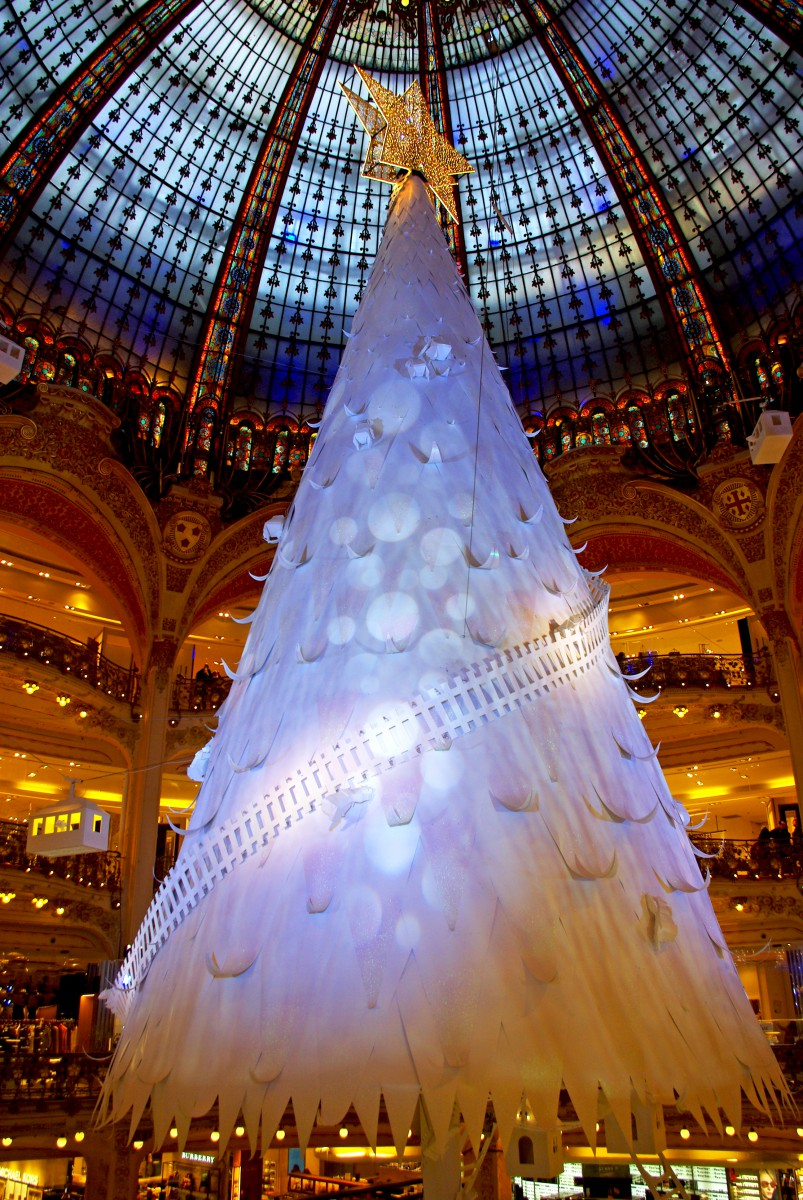 Christmas 2016 at Galeries Lafayette Haussmann - French Moments