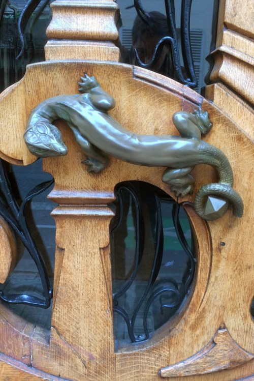 Paris door handles and knockers