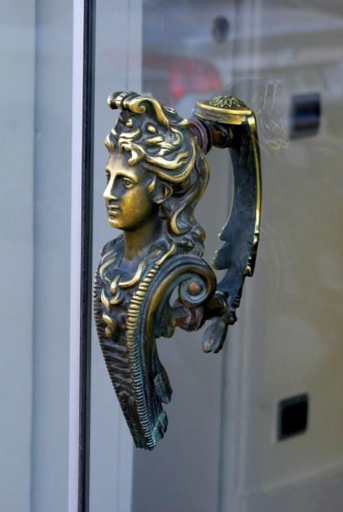 Paris door handles and knockers