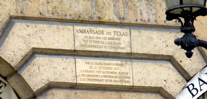 Texas Embassy in Paris