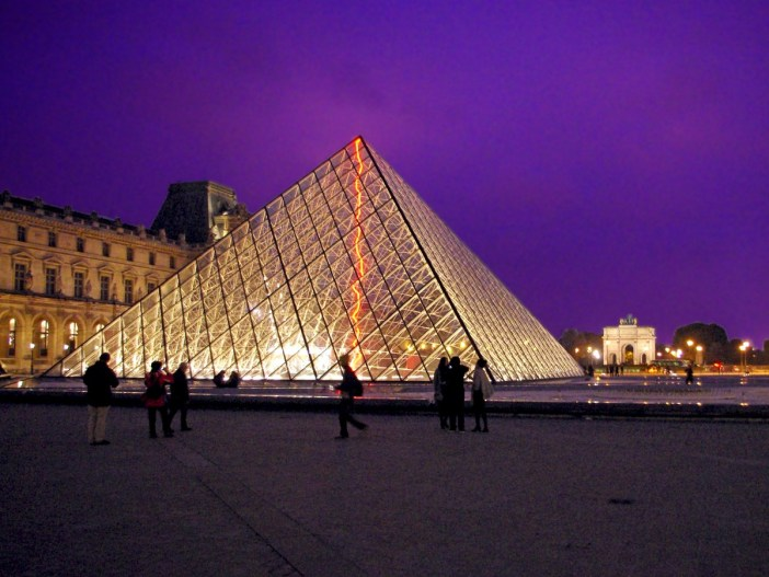 Louvre Paris Glass Pyramid