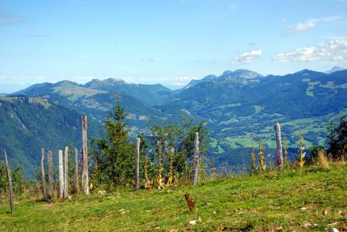 Chablais Môle departement of Haute-Savoie