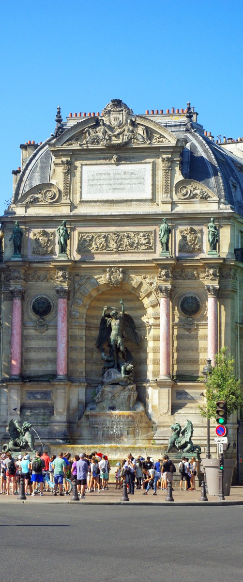 Saint-Michel Fountain