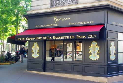 baguette Paris boulangerie Brun