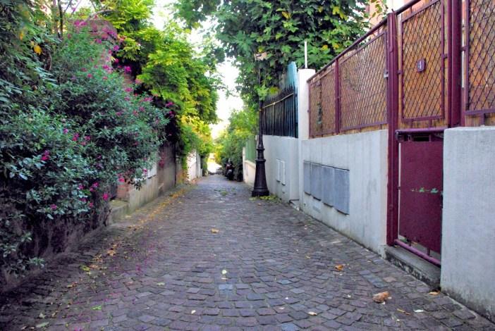 Mouzaïa district Paris