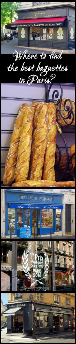 Best baguettes in Paris