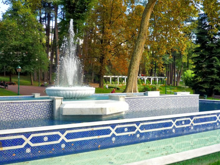 Parc Thermal, Aix-les-Bains © French Moments
