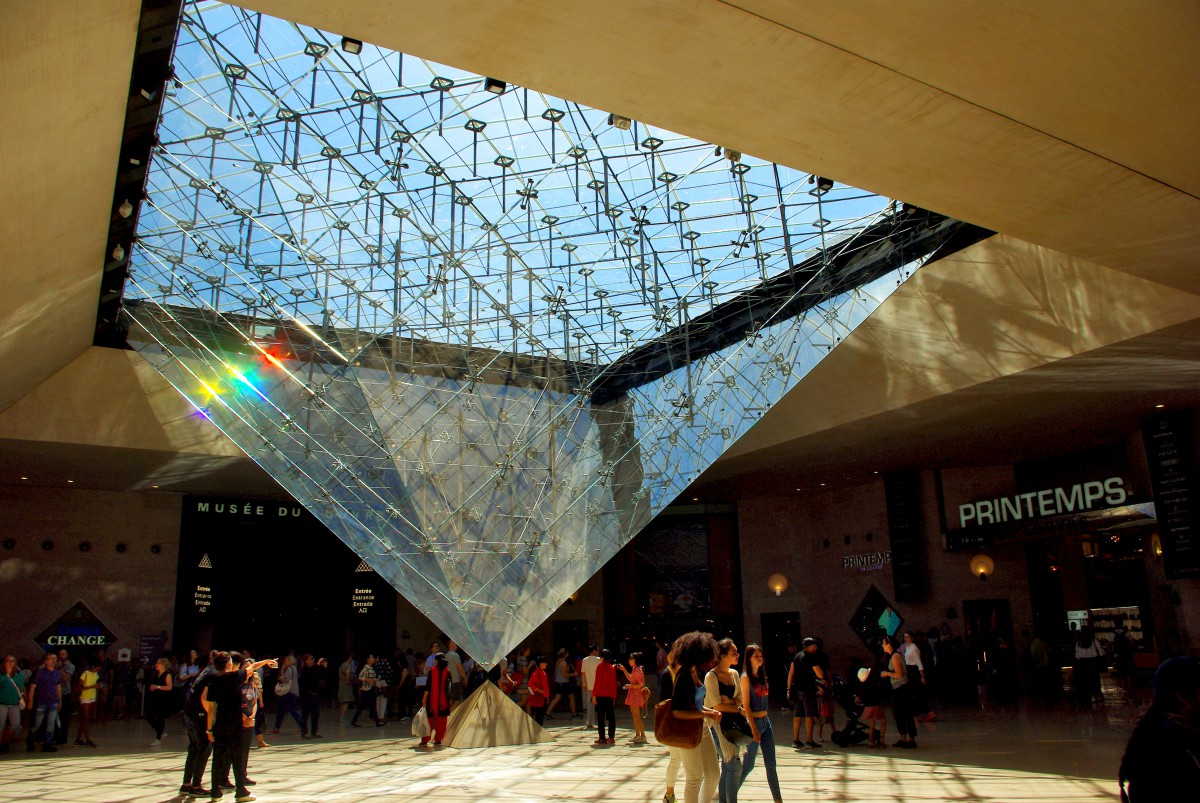 Where To Find The Inverted Pyramid Of The Louvre Paris