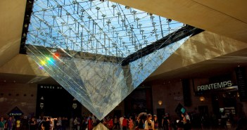 Inverted Pyramid of the Louvre, Paris © French Moments