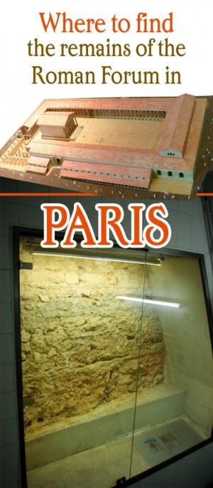 Roman Forum in Paris
