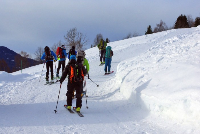 Cross-country skiing in Granier © French Moments