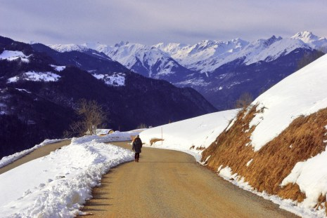 Above the Tarentaise Valley at Granier © French Moments