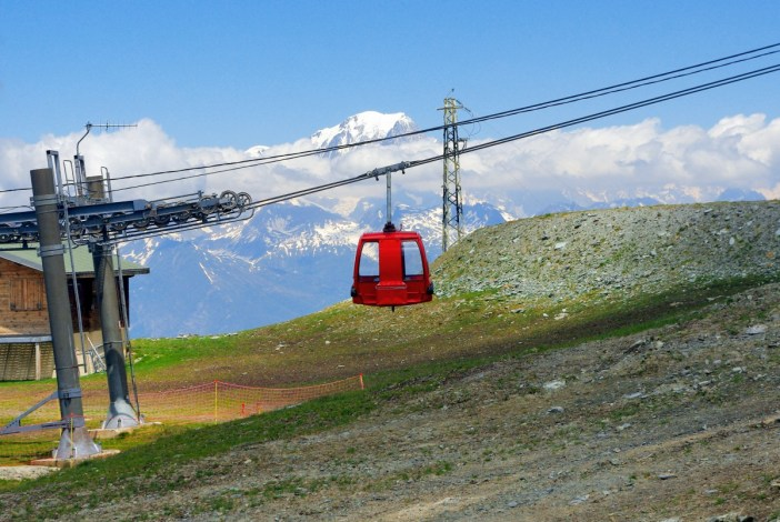 Bellecôte télécabine, La Plagne © French Moments