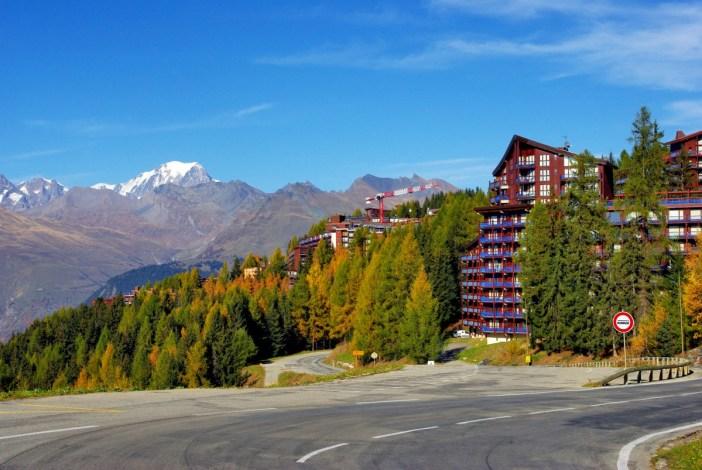The ski resort of Les Arcs 1600 © French Moments
