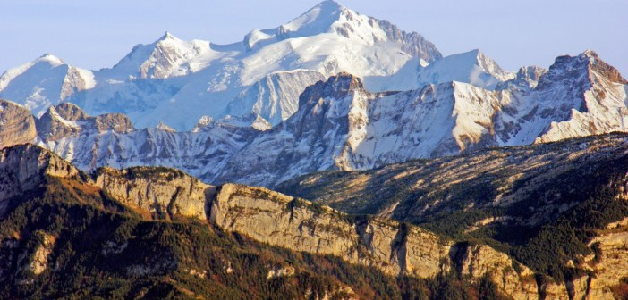 Mont-Blanc from Salève © French Moments