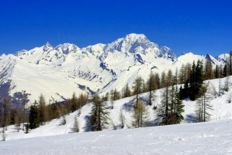 Mont-Blanc from Vallandry © French Moments