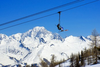 Chairlift at Vallandry (Paradiski) © French Moments